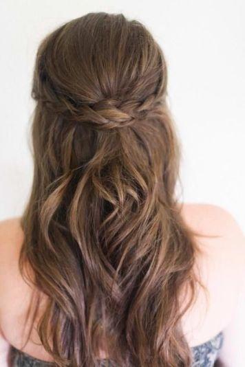 Algunas Sugerencias de Peinados con Trenzas en Semirecogido