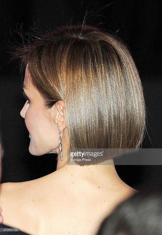 Estilos de pelo Glass hair de Tendencia Pelo Corto Letizia