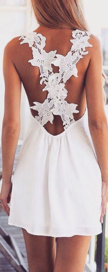 Peinados con Vestidos de novia cortos Largo Liso