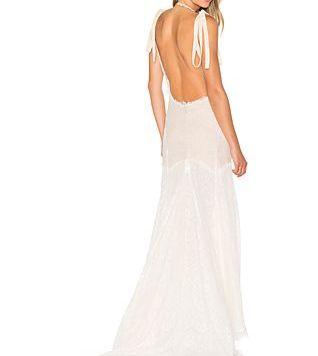 Peinados con Vestidos de novia cortos Pelo Largo Ombre