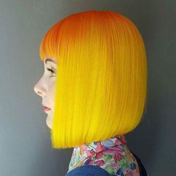 Tintes de Neon y Propuestas de Colores Naranjas y Amarillos