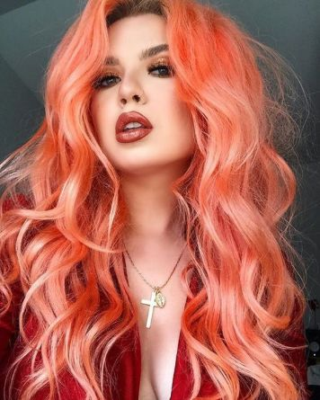 Tintes de Neon y Propuestas de Colores Naranjas