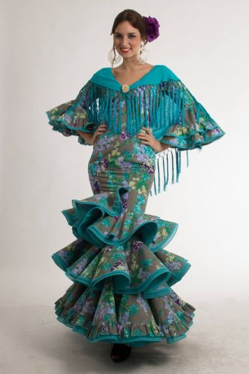 Todo Ideas en flamenca flor lateral