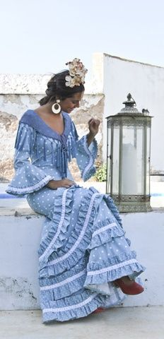 Todo Ideas en flamenca con trenza ancha