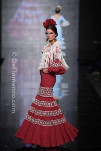 Todo Ideas en complementos para trajes de flamenca con raya en Medio