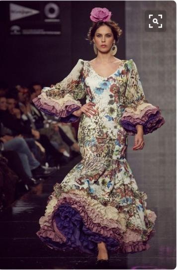 Todo Ideas en trajes de flamenca estampados