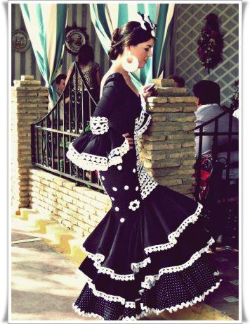 Todo Ideas en de volantes moda terciopelo flamenca