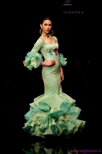 Todo Ideas en trajes flamenca mujer acuarela