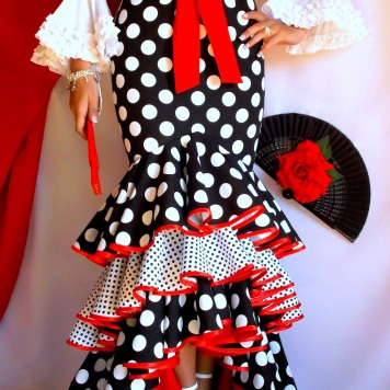 Todo Ideas en juana martin moda flamenca cinturon rojo
