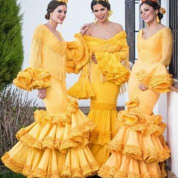 Todo Ideas en vestido lola flores gitana