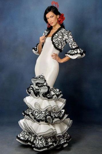 Todo Ideas en moda flamenca para niñas pelo negro