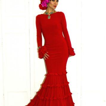 Todo Ideas en moda flamenca tendencias rojo