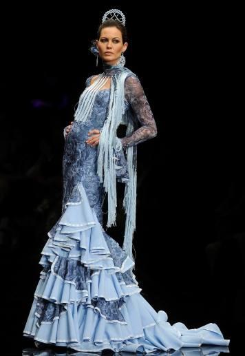 Todo Ideas en faralaes moda flamenca lila
