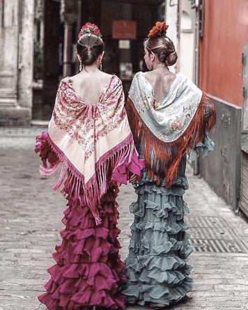 Todo Ideas en pendientes flamenca combinados