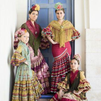 Todo Ideas en pilar vera moda flamenca