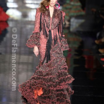 Todo Ideas en traje de flamenca de niña amanecer