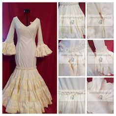 Todo Ideas en traje de flamenca niña fino