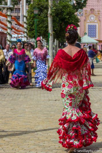 Todo Ideas en traje de flamenca de dia