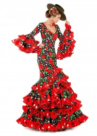 Todo Ideas en traje de flamenca sombrero cordobes