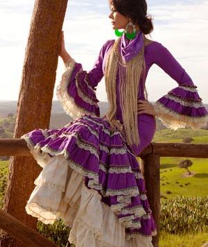 Todo Ideas en traje flamenca barato morado