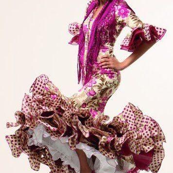 Todo Ideas en trajes de flamenca feria de abril entallado