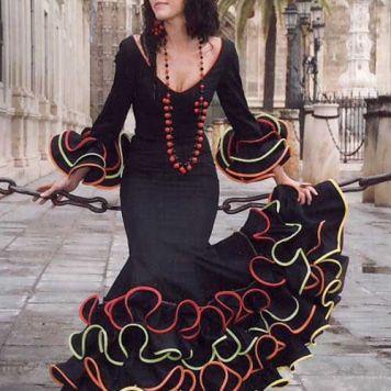 Todo Ideas en trajes de flamenca niña tricolor