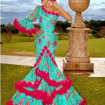 Todo Ideas en trajes flamenca niñas fucsia