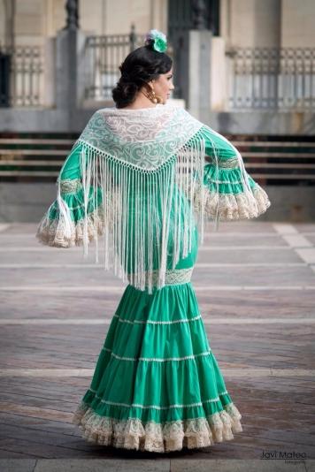 Todo Ideas en trajes flamenca verde