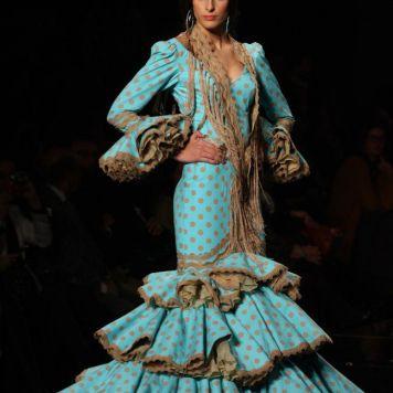 Todo Ideas en vestido de boda gitana lunares turquesa