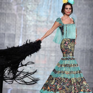 Todo Ideas en vestido de flamenca turquesa