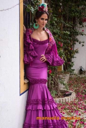 Todo Ideas en vestido flamenca morados a juego