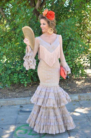 Todo Ideas en vestidos flamenca niña beige