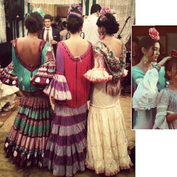 Todo Ideas en guapisima moda flamenca