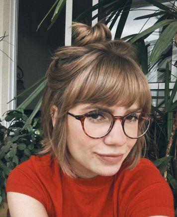 Gafas de Sol segun Cara, Tinte y Peinado Moño desenfadado