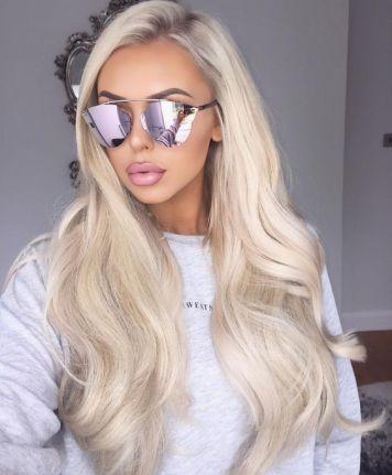 Gafas de Sol segun Cara, Tinte y Peinado Pelo Largo