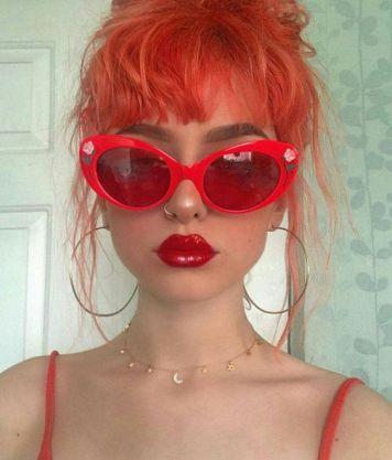 Gafas de Sol segun Cara, Tinte y Peinado Recogido
