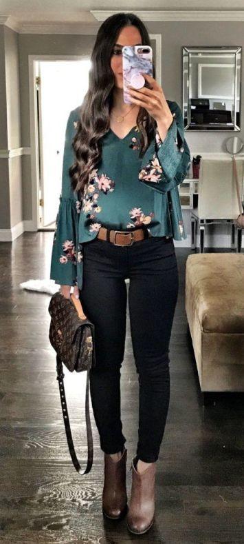 Moda joven Mujer Pantalones Vaqueros Cinturon