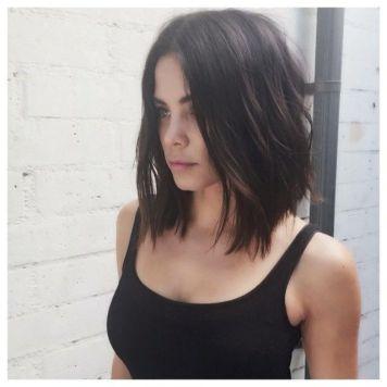 La Tendencia de Corte de pelo y Peinado que se impone, el Long bob con peinados de pelo corto