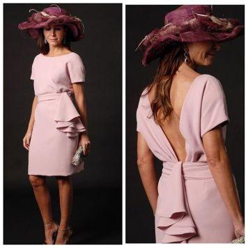 Ser la Madrina Ideal con Tocado, Mantilla o Sombrero con Vestido corto