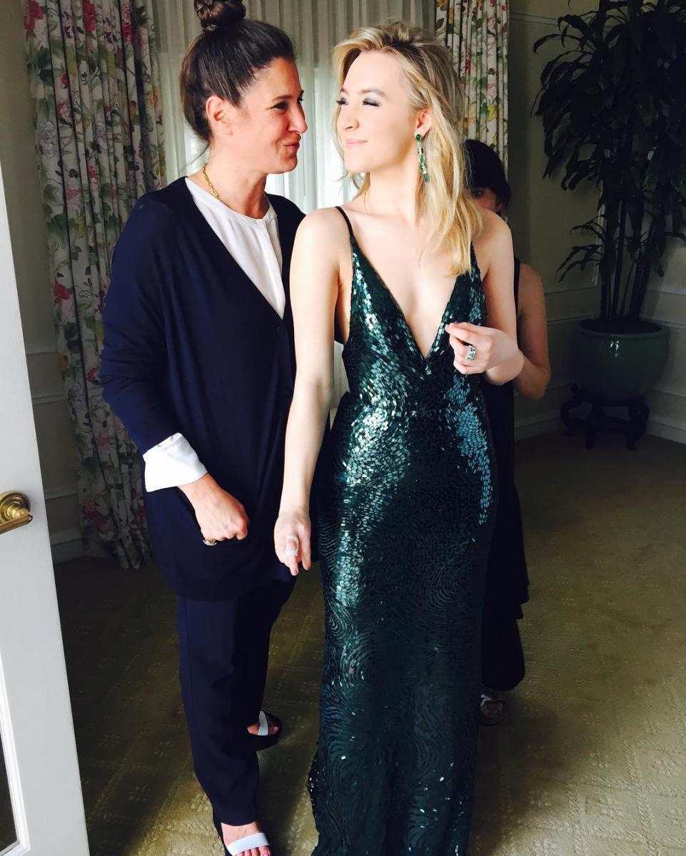 Vestidos y Peinados de Celebrities a la moda La Victoria