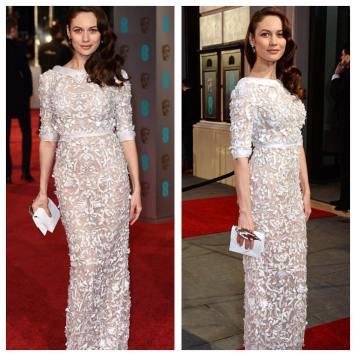 Vestidos y Peinados de Celebrities a la moda Moriles