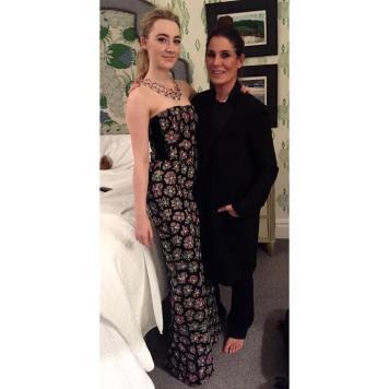 Vestidos y Peinados de Celebrities a la moda Pedro Abad