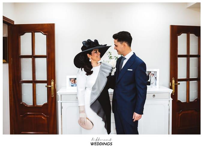 Encarni y Bea, Perfecta elegancia antes de la Ceremonia