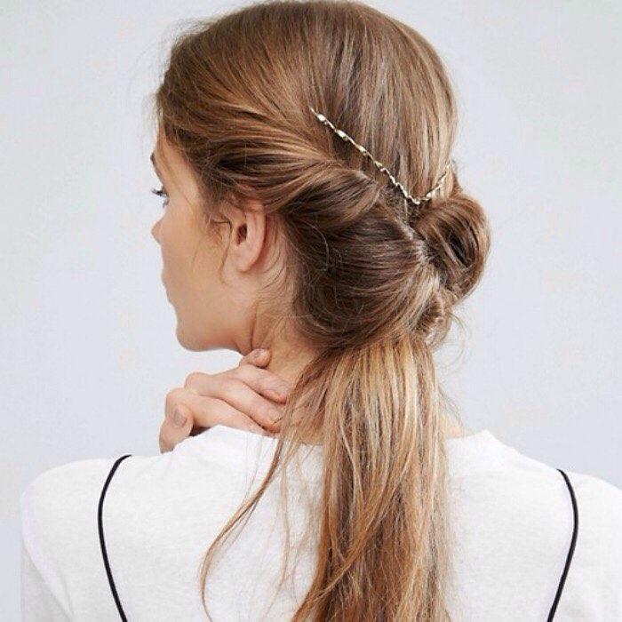 Peinados de Novia con varios Tipos de Cola Motivo del Propio pelo