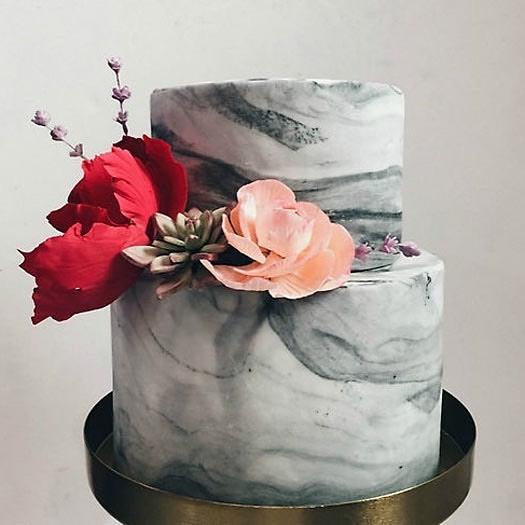 Tartas Romanticas de Aniversario de Boda (2)