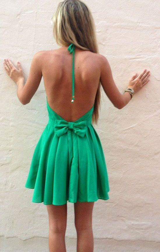 Vestidos cortos de Espalda al Aire (11)