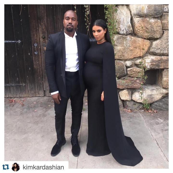 Vestidos de Celebridades como invitados de Negro