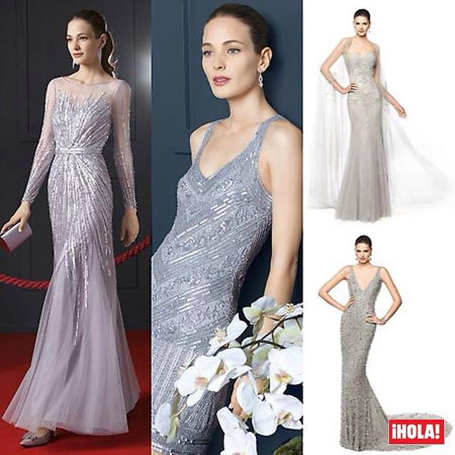 Vestidos de Celebridades como invitados Elegante
