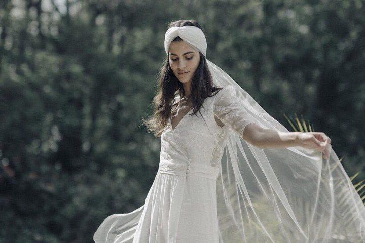 Complementos para Cabello Semirecogido en novias Romanticas (1)