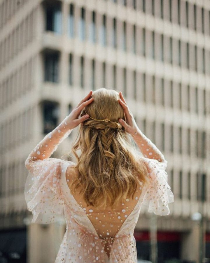 Complementos para Cabello Semirecogido en novias Romanticas (6)